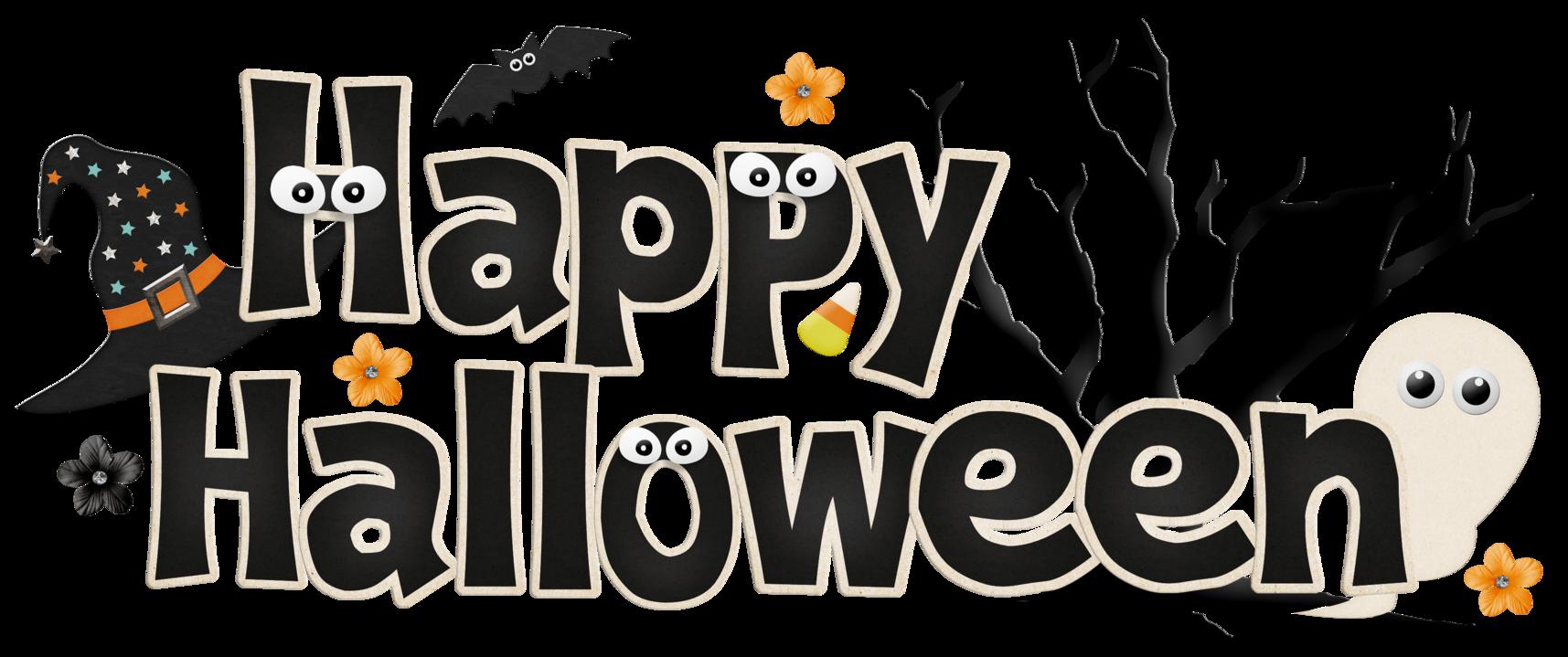 Happy halloween png clipart