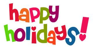 Happy Holiday Clip Art Free . - Free Happy Holidays Clip Art