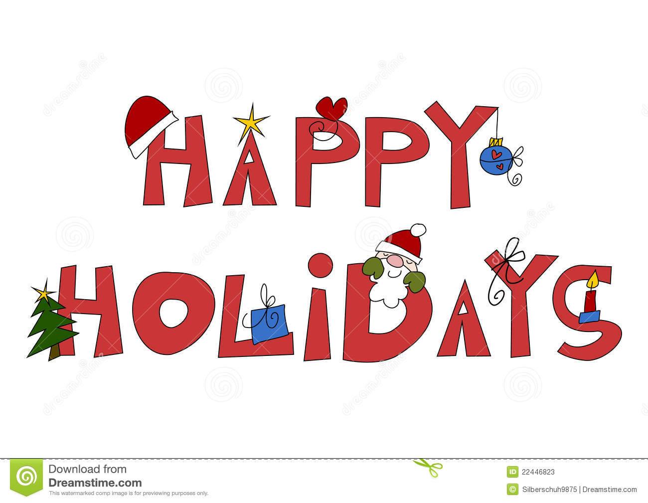 Happy Holiday Clipart