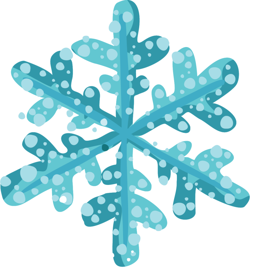Happy Holiday Snow Clip Art 8 Png