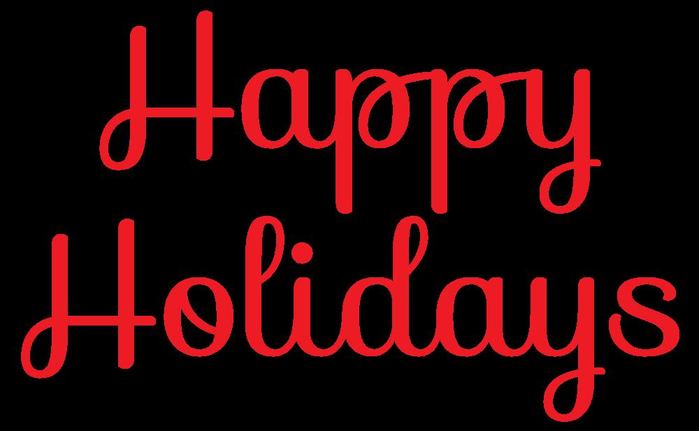 Happy Holidays Clip Art Free 3-Happy holidays clip art free 3-8
