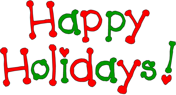 ... Happy Holidays Clip Art Free Clipart - Free to use Clip Art Resource ...