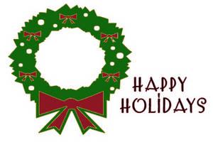 Happy Holidays Clipart Free. Happy holidays holiday clip .