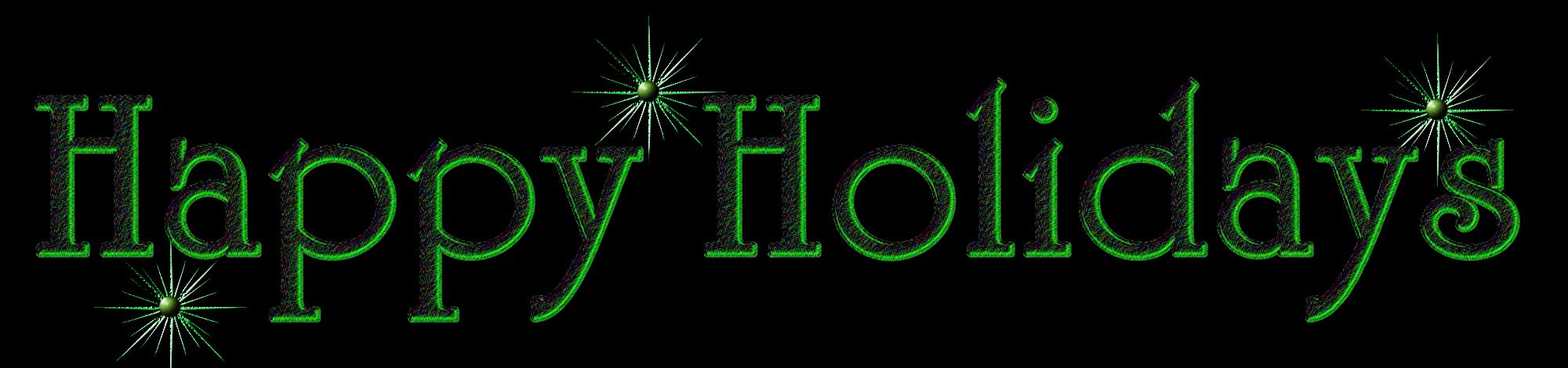 Happy Holidays Clipart Happy Holidays Pn-Happy Holidays Clipart Happy Holidays Png By Jssanda-12