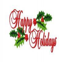 Happy Holidays Free Clipart