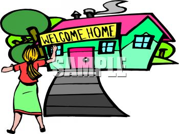 Happy Home Clipart Clipart Panda Free Clipart Images