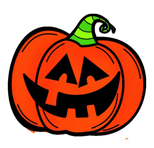 Happy Jack O Lantern Clip Art
