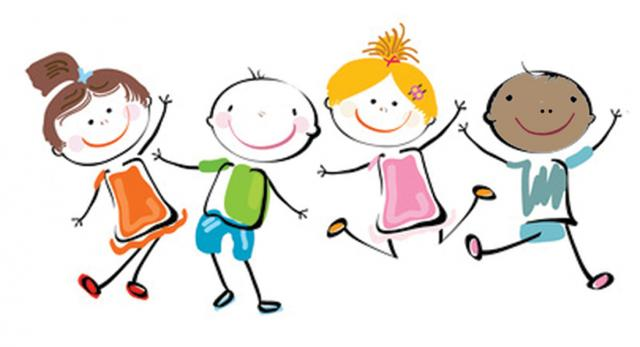 Happy Kids Clip Art