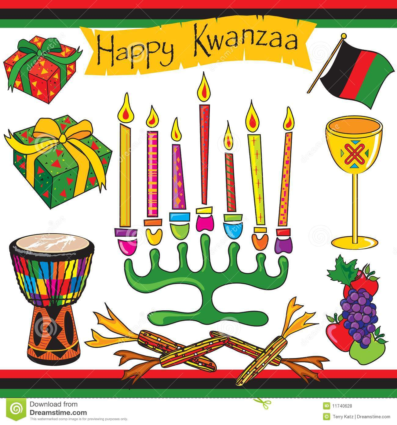 Happy Kwanzaa clip art and icons-Happy Kwanzaa clip art and icons-7