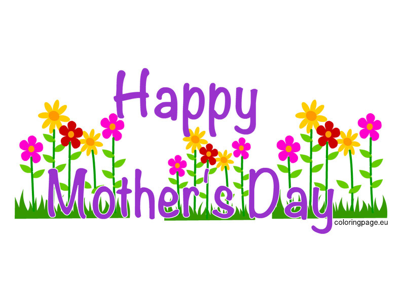 Happy Mother - Mothers Day Clipart