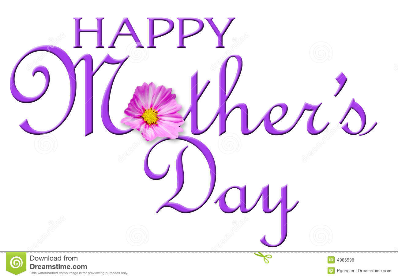 Happy Mother S Day Royalty Free Stock Photos Image 4986598