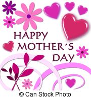 ... happy mothers day pink - Mother Day Clip Art Free