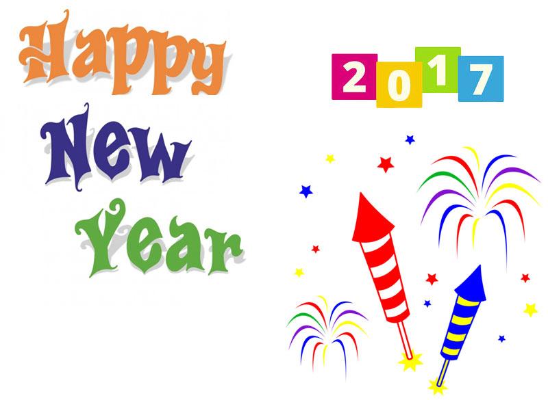 Happy New Year 2017 clipart-Happy New Year 2017 clipart-2