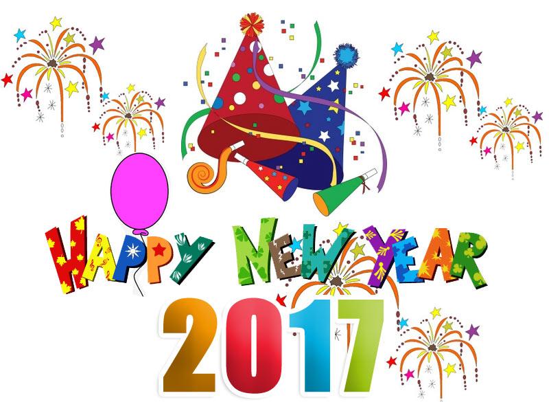Happy New Year 2017 clipart-Happy New Year 2017 clipart-8