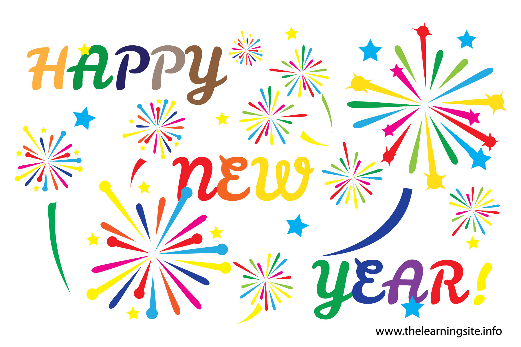 Happy New Year 2017 clipart. New Year
