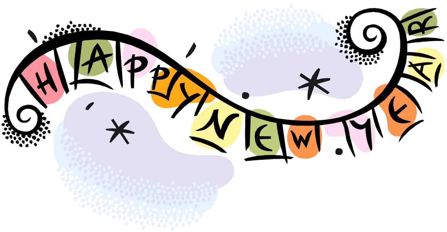 Happy New Year Clip Art .-Happy New Year Clip Art .-16