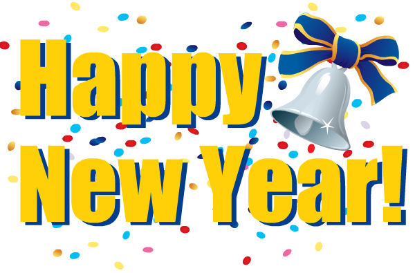 Happy New Year Clip Art Free - Clipart library