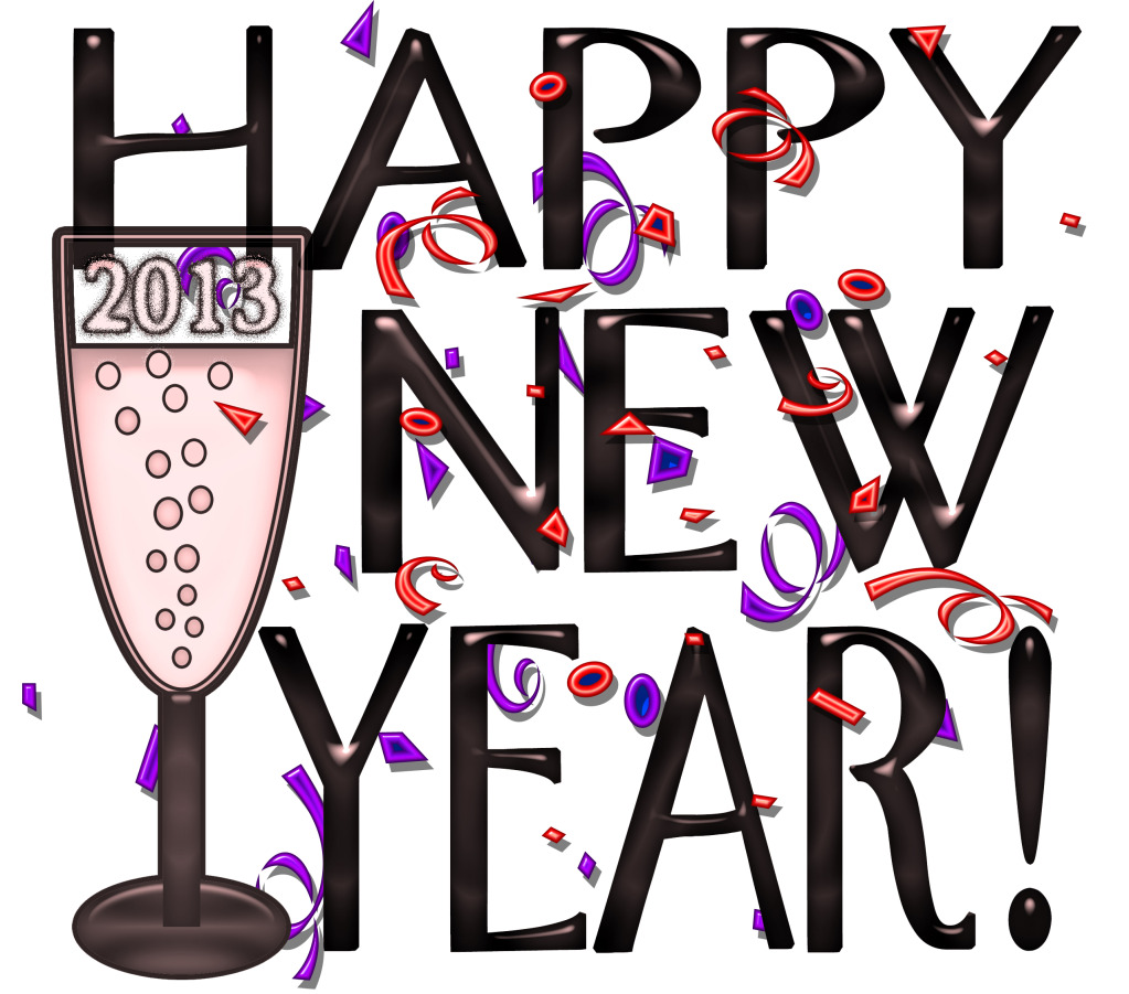 Happy New Year Clip Art ..