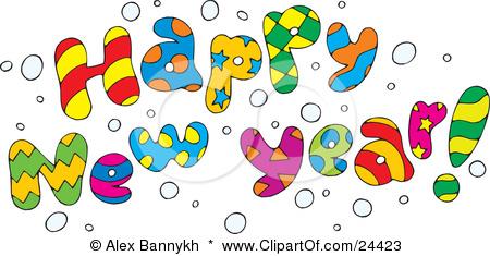 Happy New Year Clip Art Z4 Eco .-Happy New Year Clip Art Z4 Eco .-13