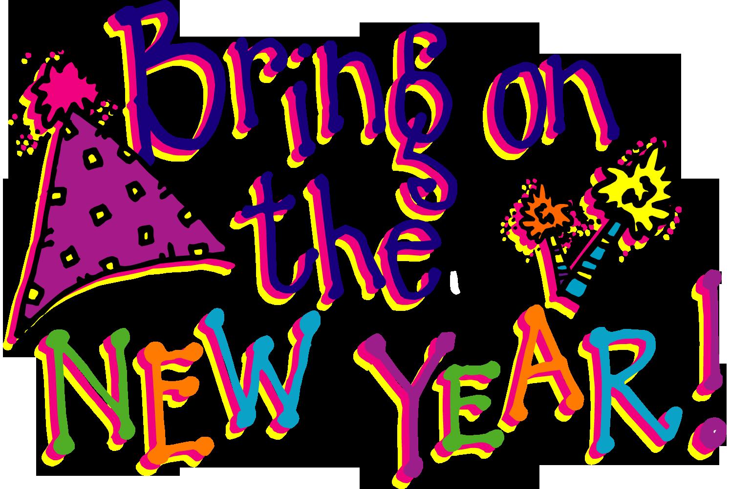 Happy New Year Clipart 6 .-Happy new year clipart 6 .-4