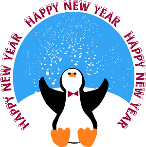 Happy new year clipart free clipart