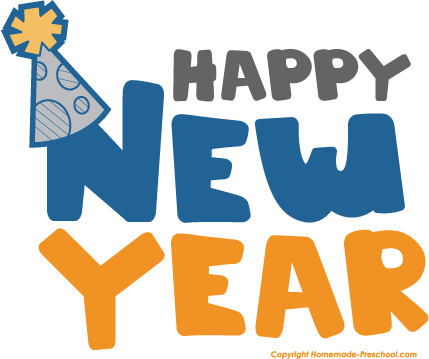 Happy New Year Clipart For Kids And Adul-Happy New Year Clipart For Kids and Adults-12