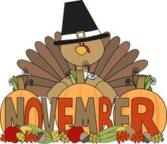 Happy November Clipart