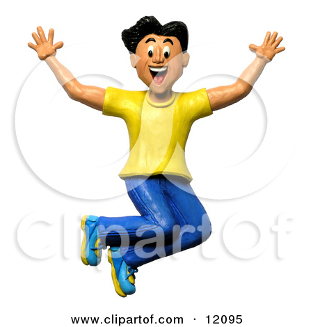 Happy Person Jumping Clipart Clipart Panda Free Clipart Images