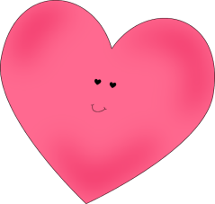 Happy Pink Heart