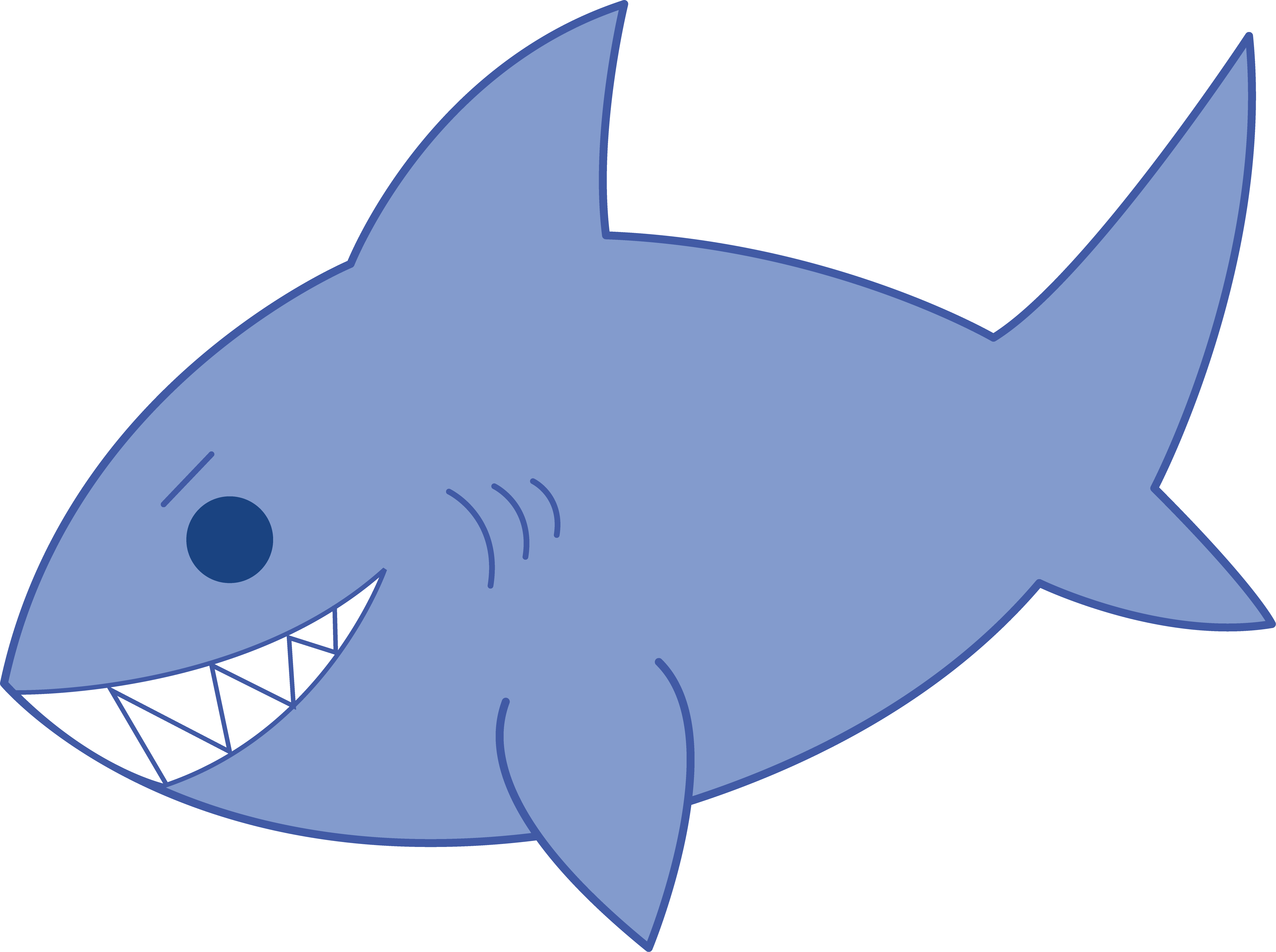 Happy Shark Clip Art | Clipart library - Free Clipart Images