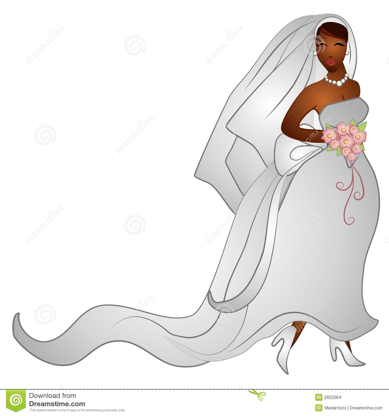 Happy Smiling Bride Clip Art-Happy Smiling Bride Clip Art-5