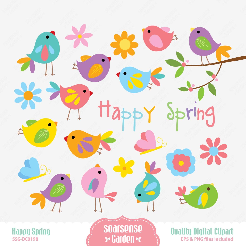 Happy Spring Clip Art-happy spring clip art-8