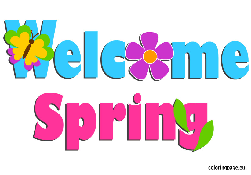 ... Happy Spring Clip Art - clipartall ...