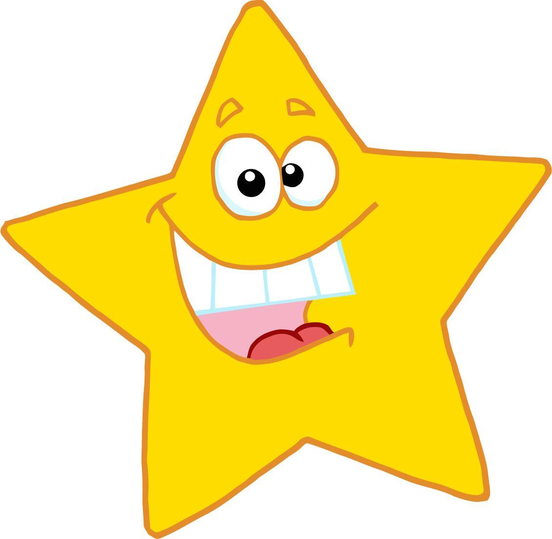 Happy star clip art