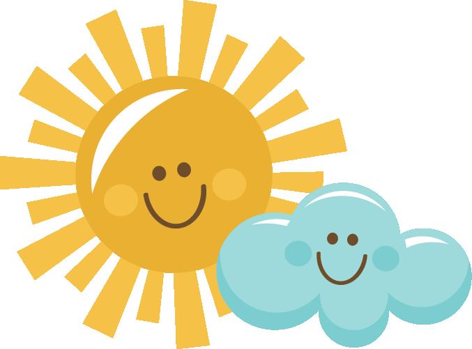 Happy Sun And Cloud Svg Scrapbook Title -Happy Sun And Cloud Svg Scrapbook Title Sun Svg Cut File Sun Cut-6