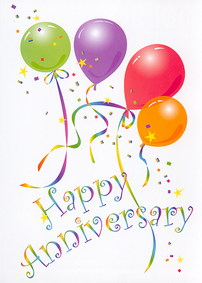 Happy th anniversary clipart 2