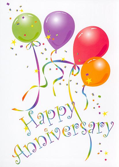 Happy th anniversary clipart 2