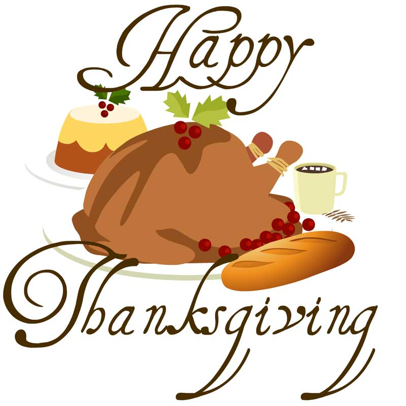 Happy Thanksgiving. brunt clipart