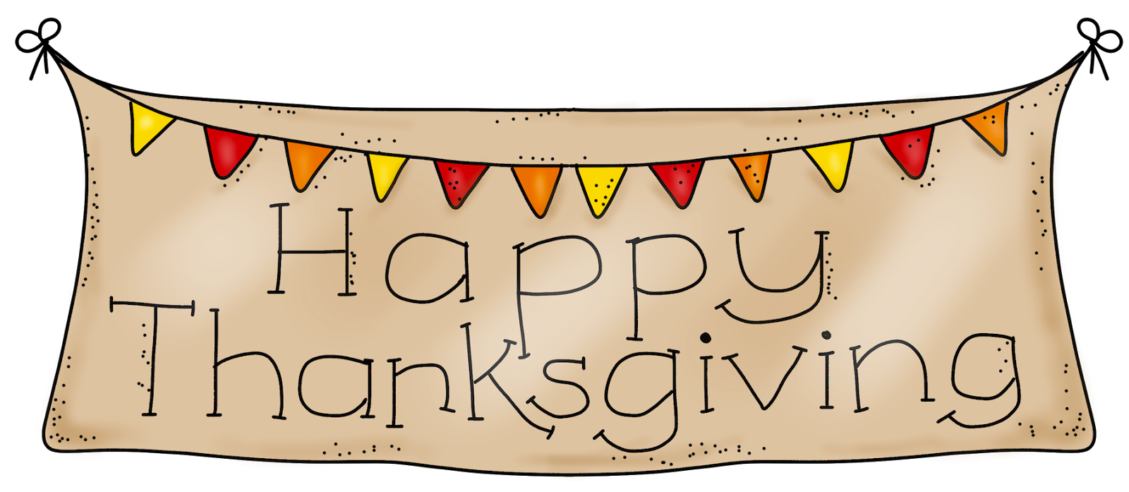 Happy thanksgiving clip art .