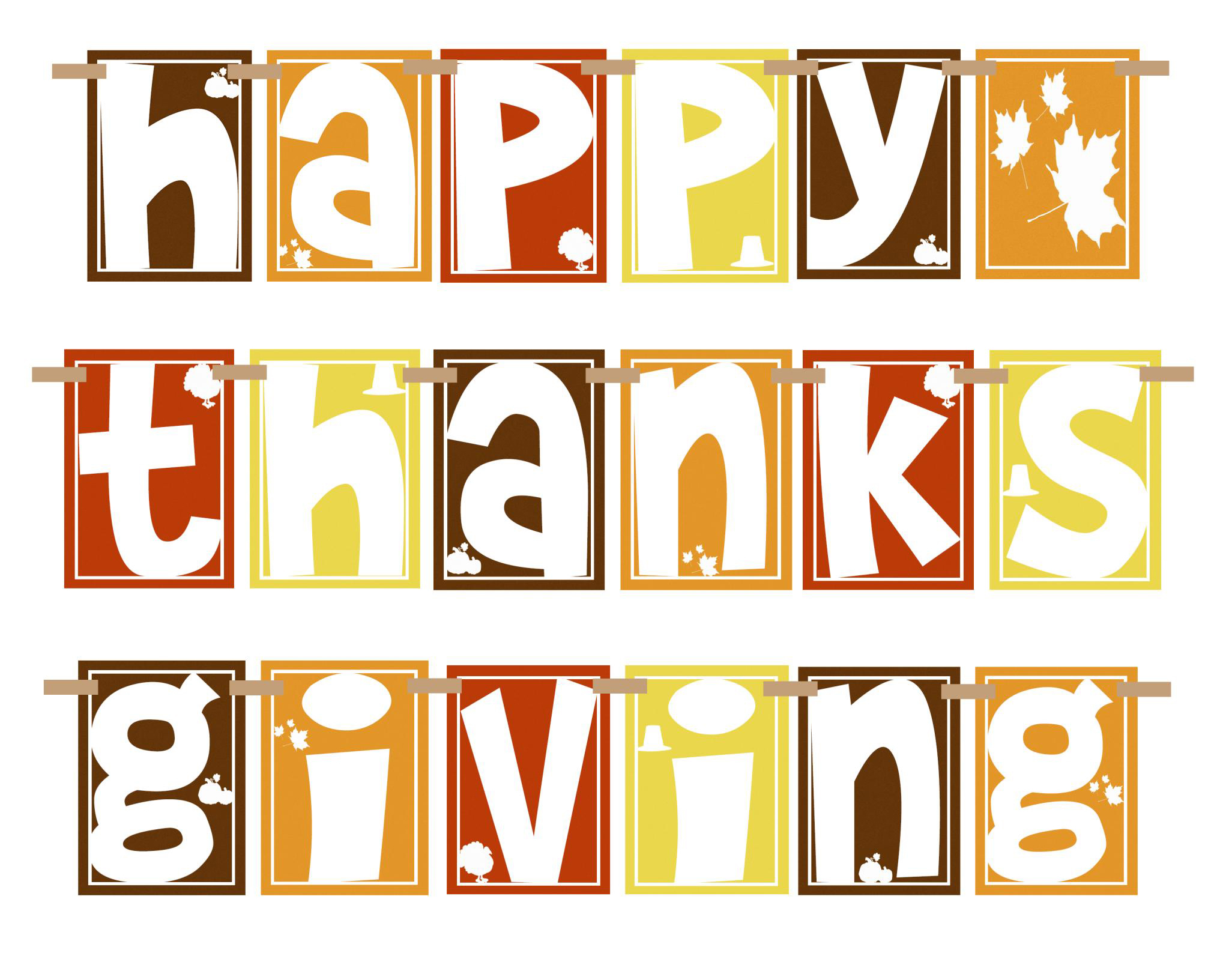 Happy Thanksgiving clipart - Clip Art Thanks