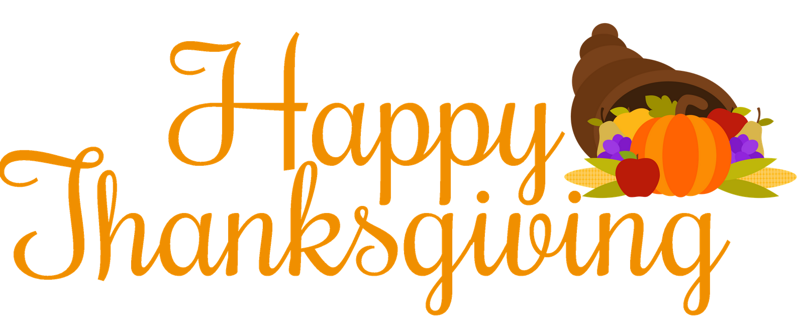 Happy Thanksgiving Clipart .-Happy Thanksgiving Clipart .-8