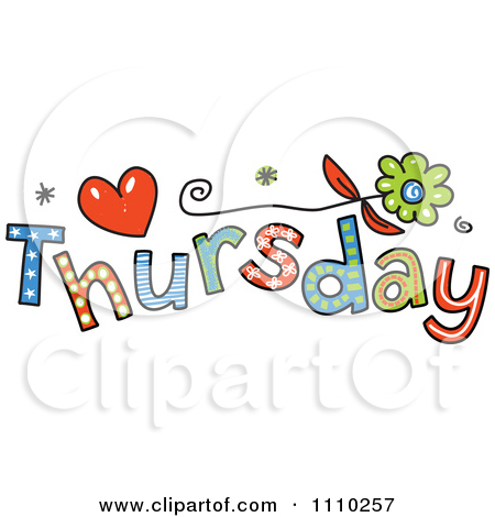 Happy Thursday Clipart . - Thursday Clip Art