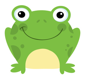 Happy Toad Clipart #1 .-Happy Toad Clipart #1 .-7