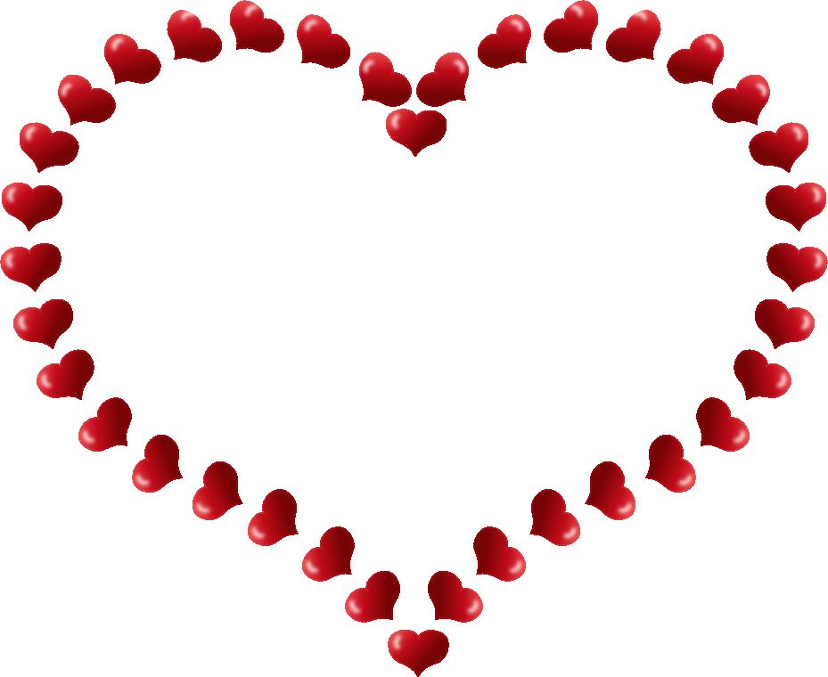 Happy Valentine Border Clipart