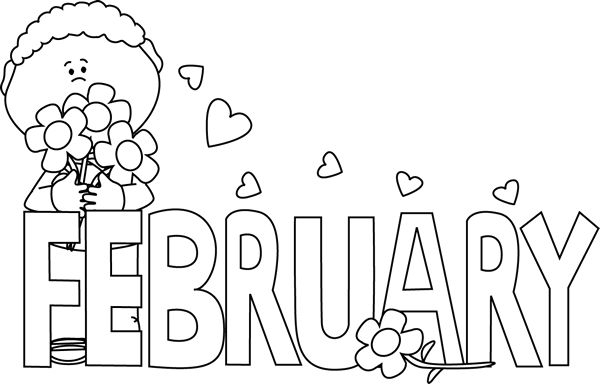 Valentines Day Clipart Black And White Look At Clip Art Images