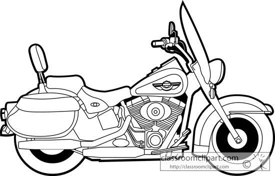 Harley Clip Art .-Harley clip art .-6