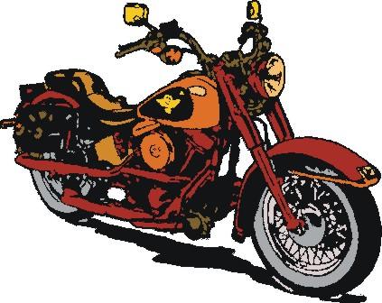 ... Harley Davidson Clip Art  - Harley Davidson Clipart
