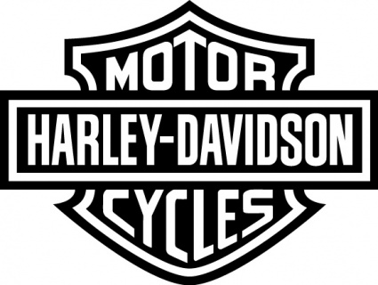Harley davidson clip art free .