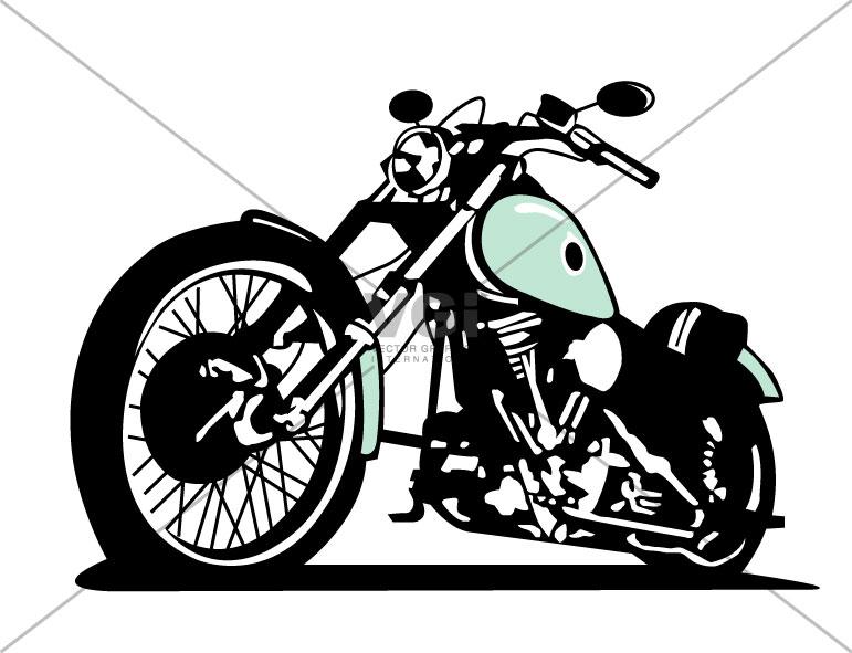 Harley Davidson Motorcycle Clip Art