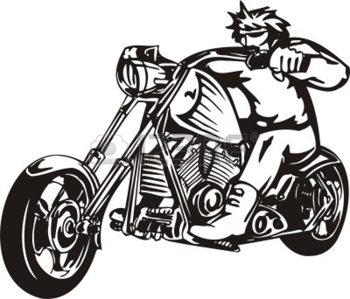 Harley Motorcycle Clipart Clipart Panda Free Clipart Images